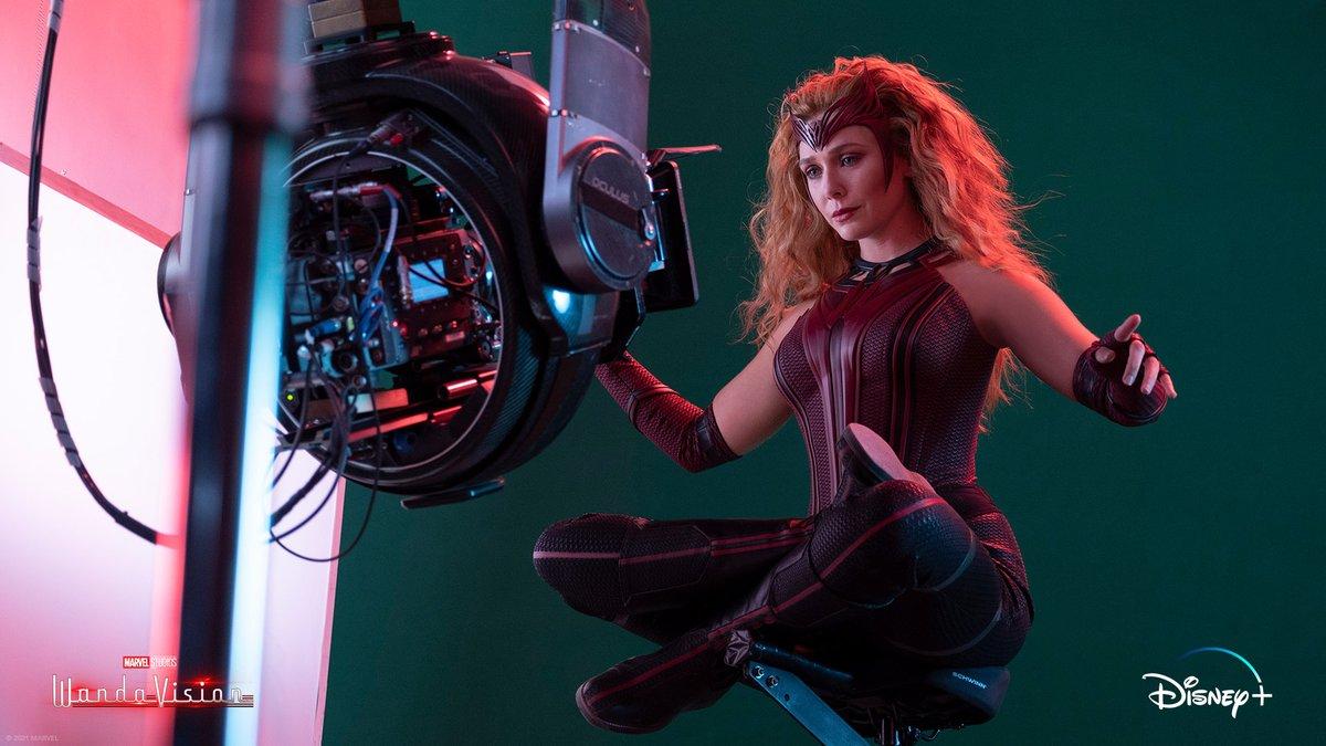 Wanda (Elizabeth Olsen) - WandaVision