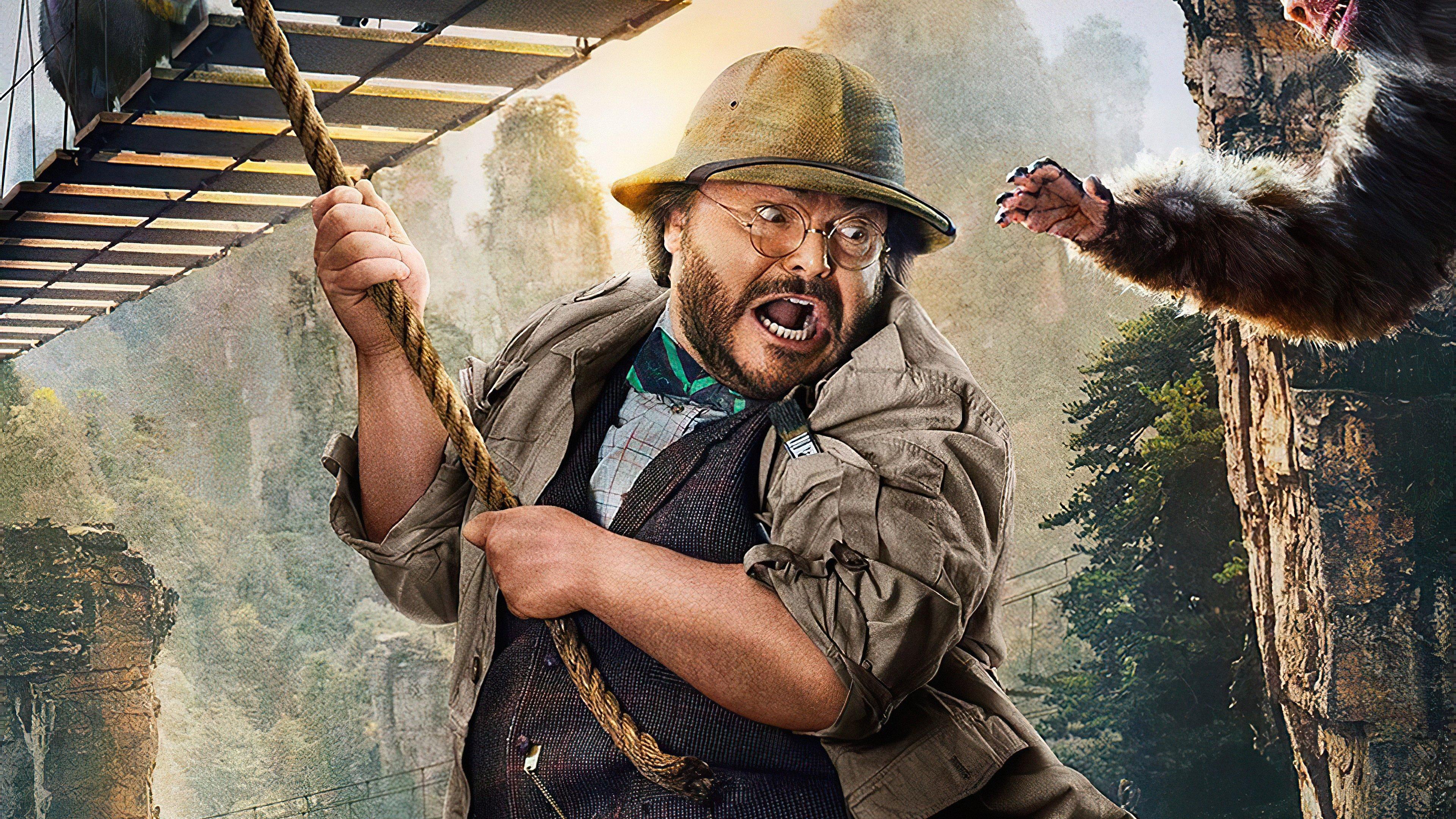 Bethany (Jack Black) - Jumanji : Bienvenue dans la Jungle