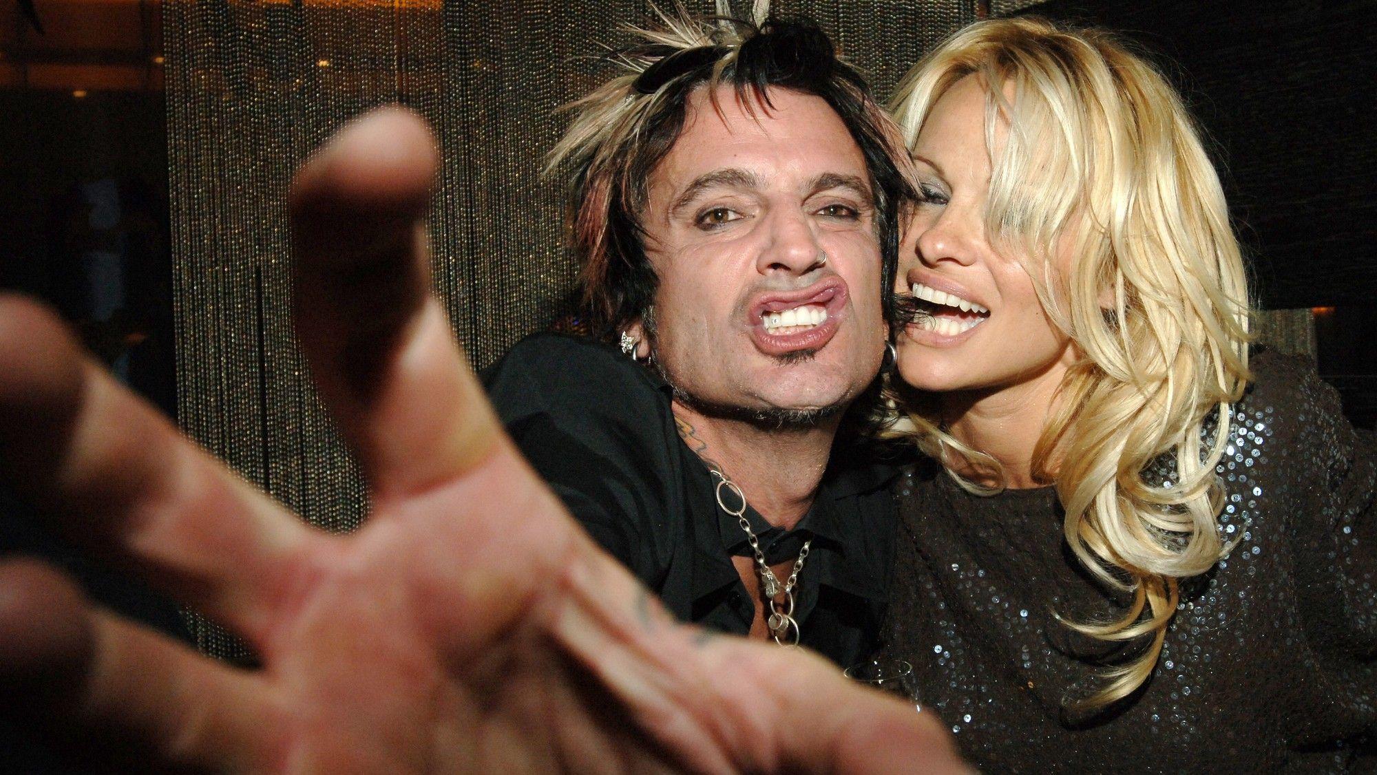 Pamela Anderson et Tommy Lee
