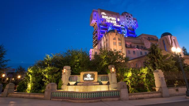 La Tour de la terreur - Disneyland Paris
