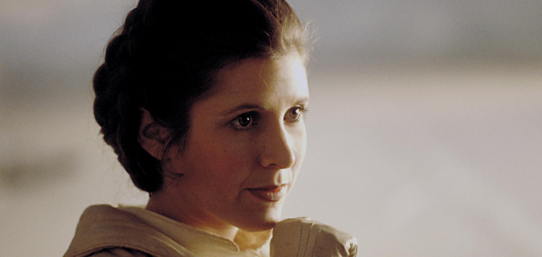 Princesse Leïa (Carrie Fisher) - Star Wars V : L'Empire contre-attaque