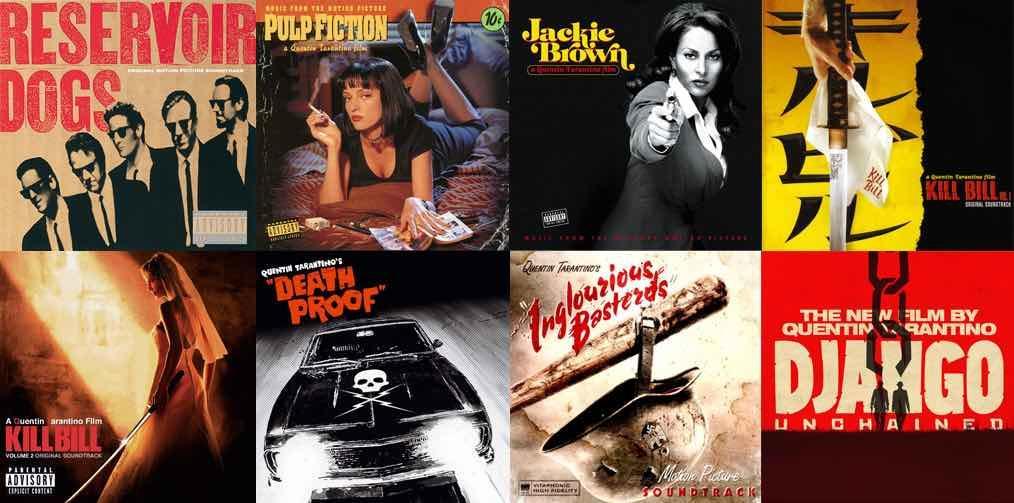 Quentin Tarantino en 8 films