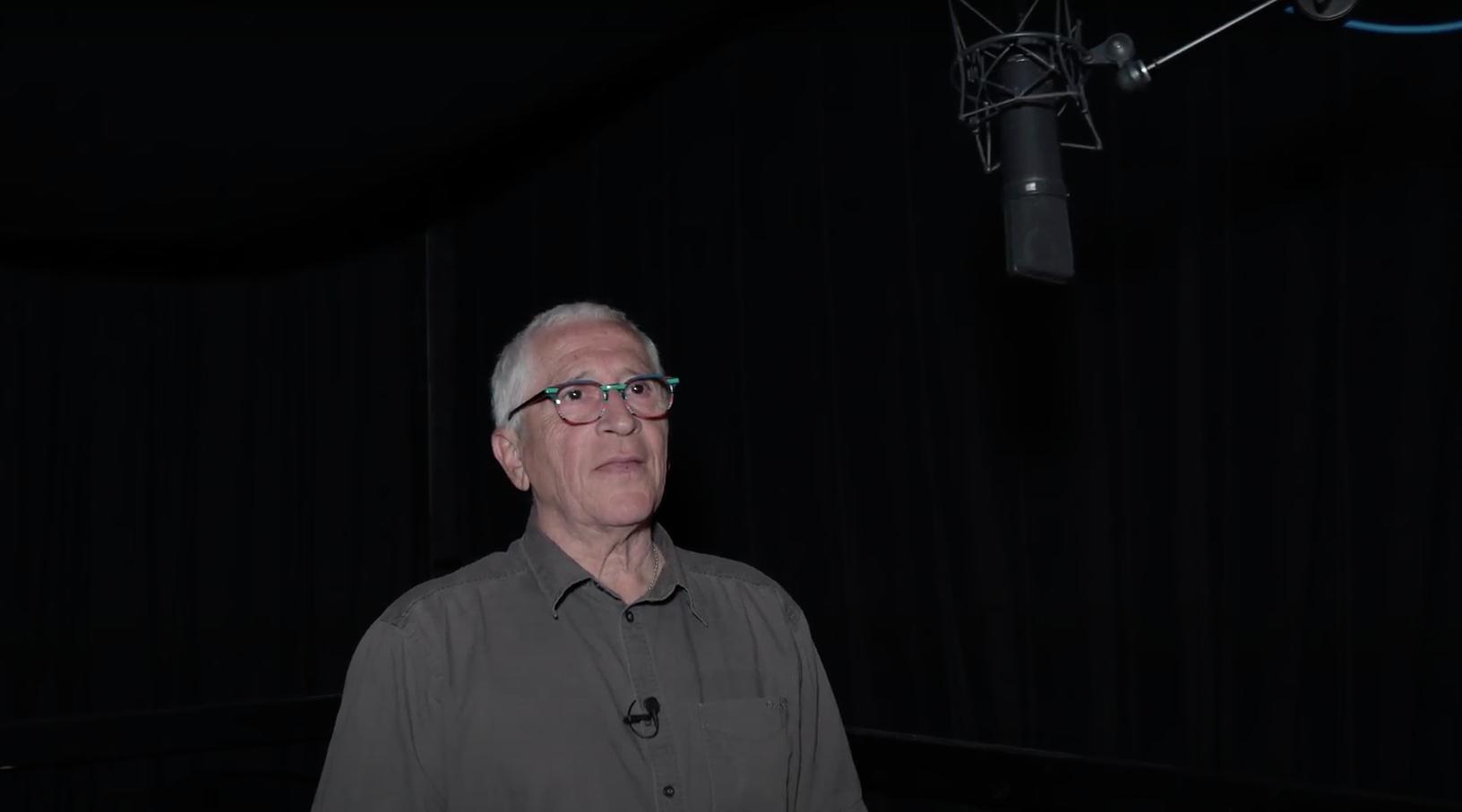 Gérard Surugue (Bugs Bunny) en studio pour Space Jam 2