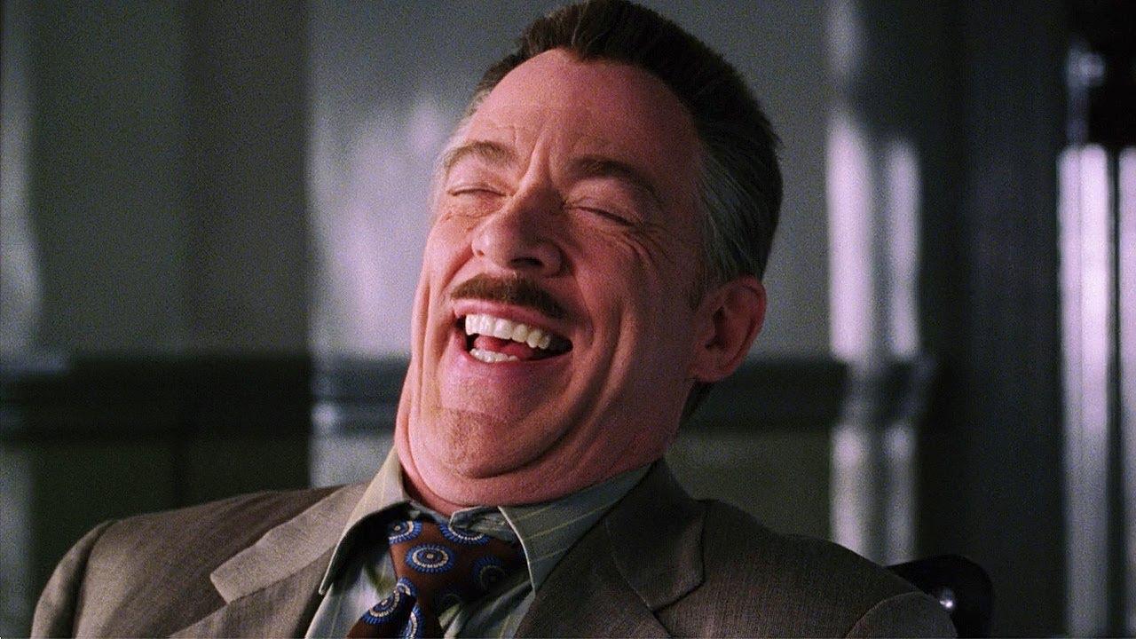 J. Jonah Jameson (J.K. Simmons) - Spider-Man