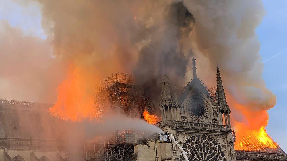 Incendie Notre-Dame de Paris