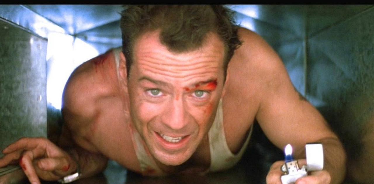 John McClane (Bruce Willis) - Piège de Cristal