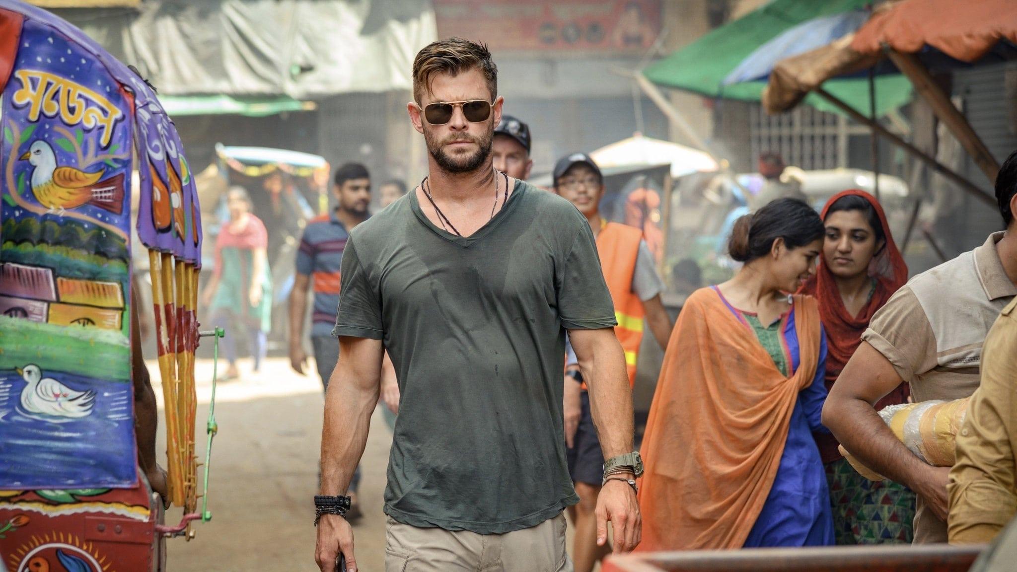 Chris Hemsworth dans Tyler Rake