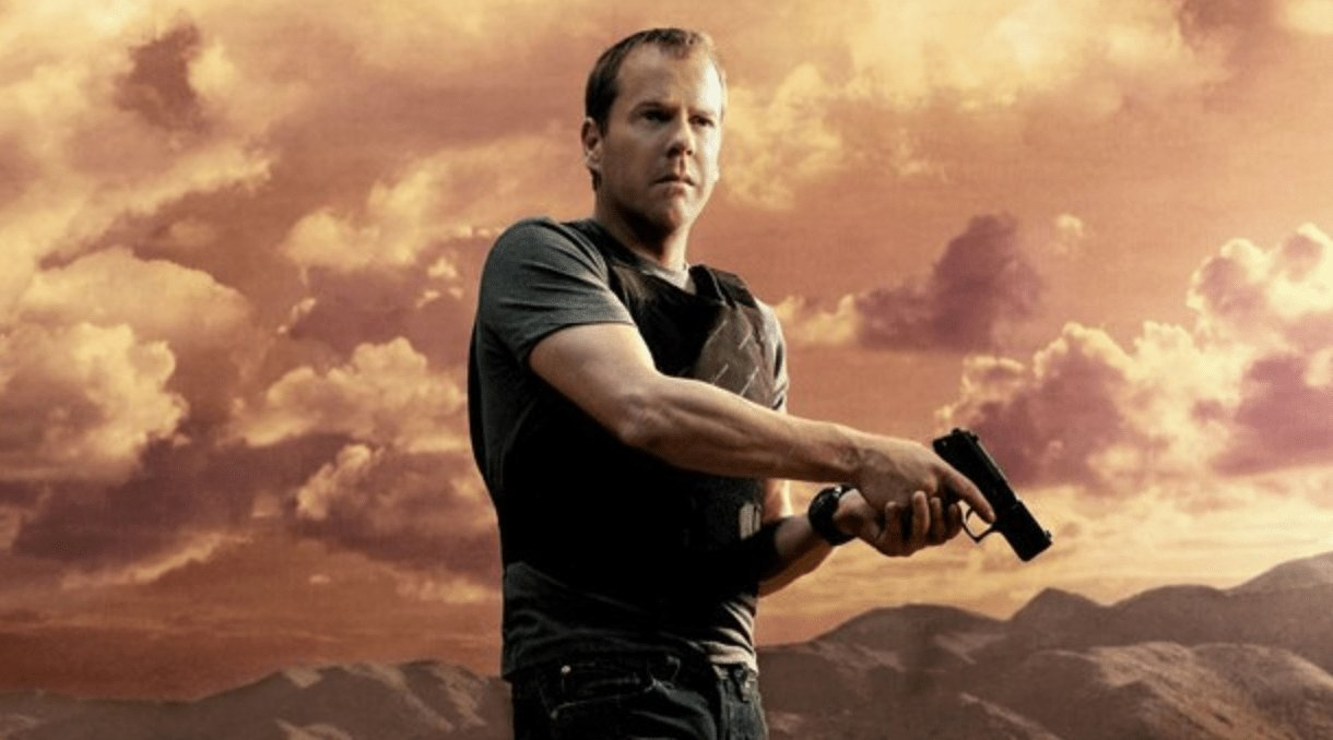 Jack Bauer (Kiefer Sutherland) - 24h Chrono