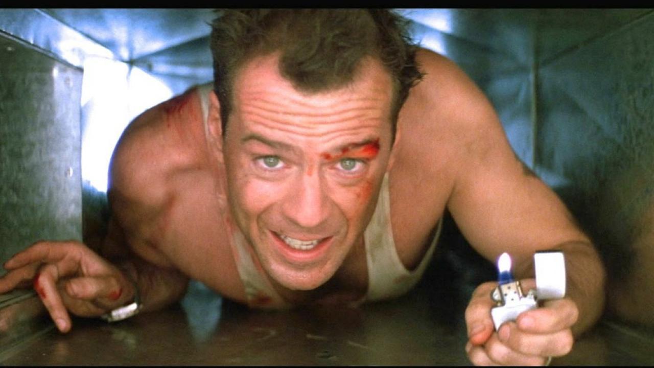 John McLane (Bruce Willis) - Piège de Cristal