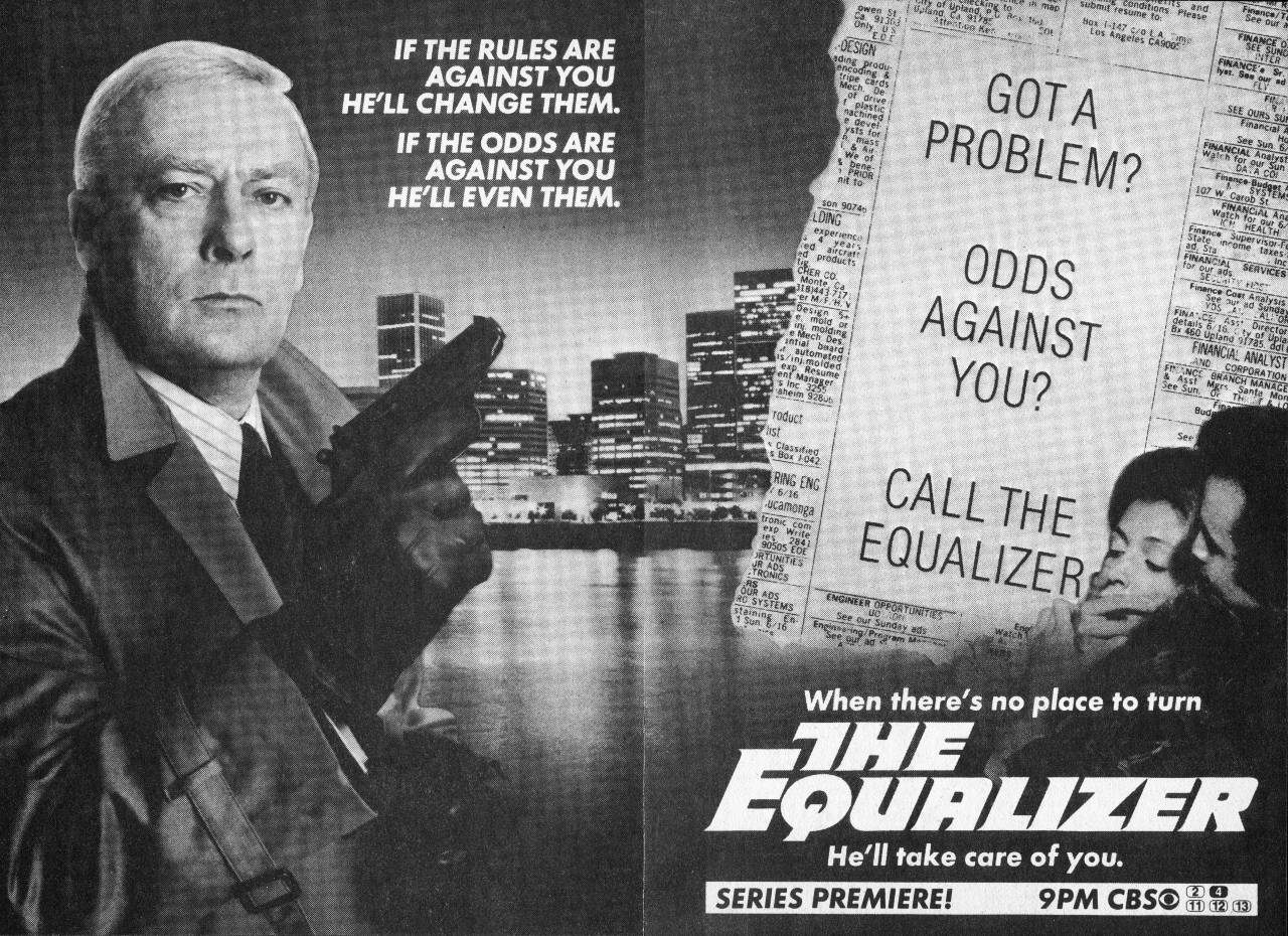 Robert McCall (Edward Woodward) - The Equalizer